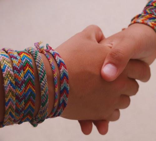 Браслеты дружбы своими руками фото