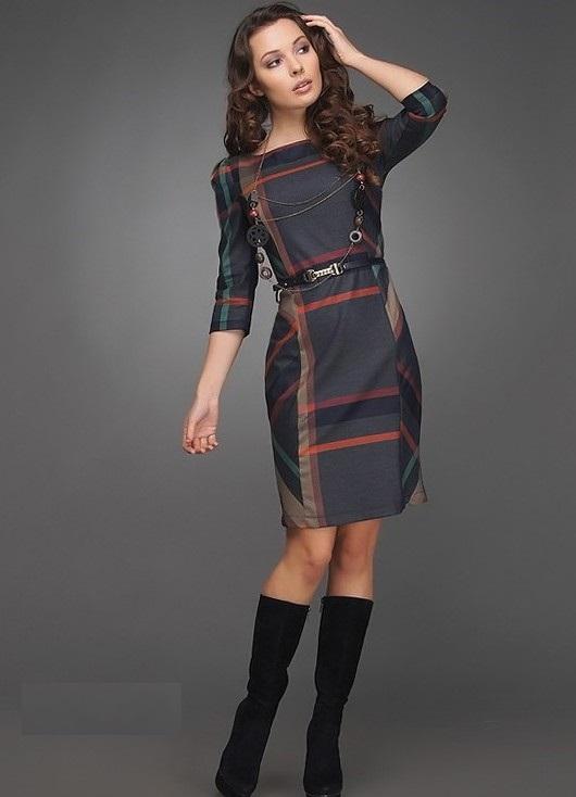 Классические деловые платья фото