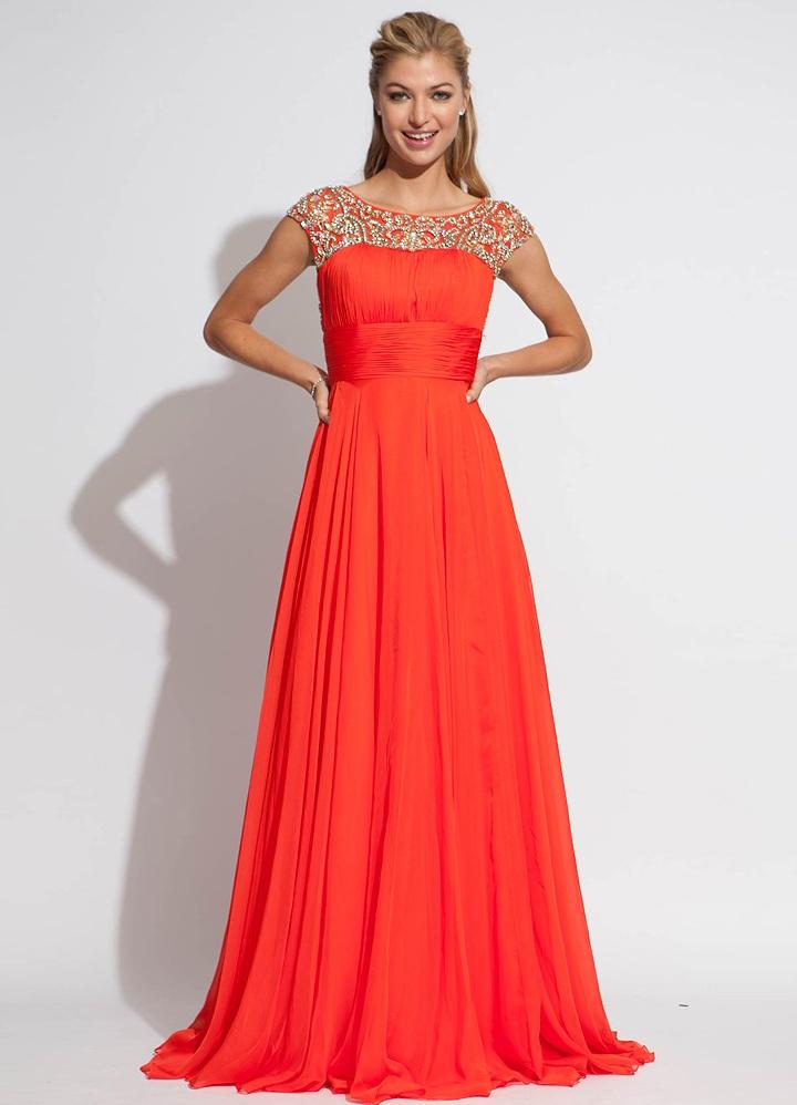 Длинные вечерние платья на свадьбу