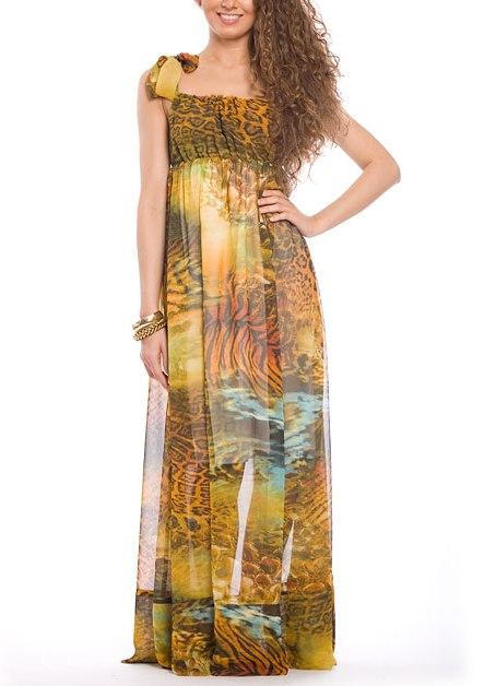 Купить платье сарафан. купить Платья Сарафан из шифона, марка: , онлайн магазин: Lady Shopping, цена: 2200
