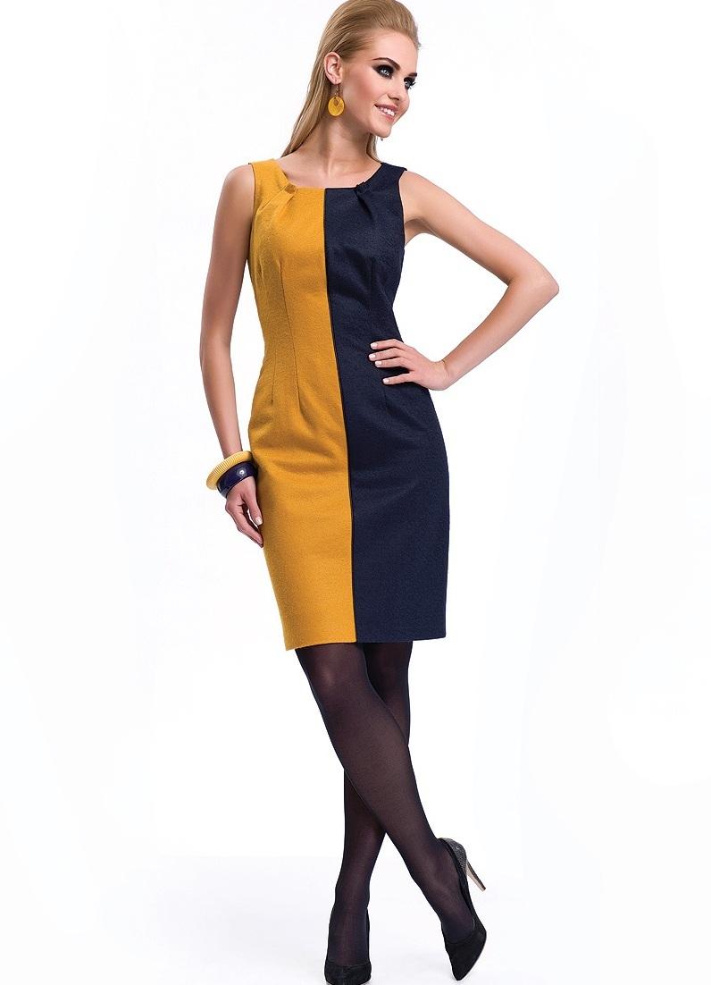 Фото платья двухцветного