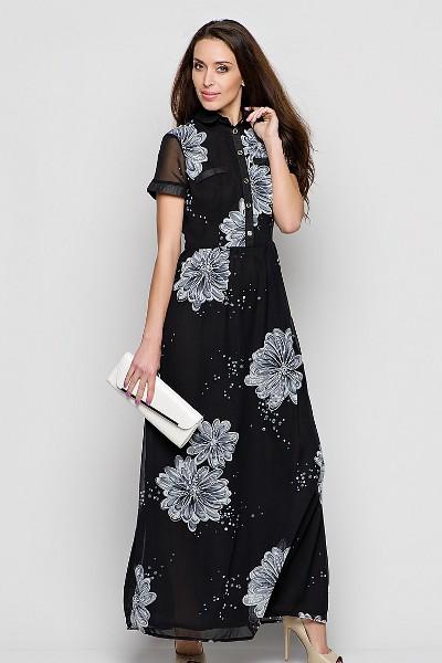 Серди фасонов летних платьев для полных на первом месте остаются греческий стиль, модели с завышенной талией и легкой длинной юбкой