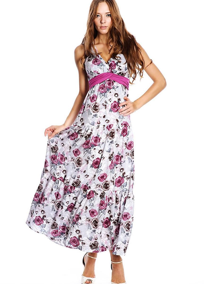 Простое летнее платье из штапеля сшить 22