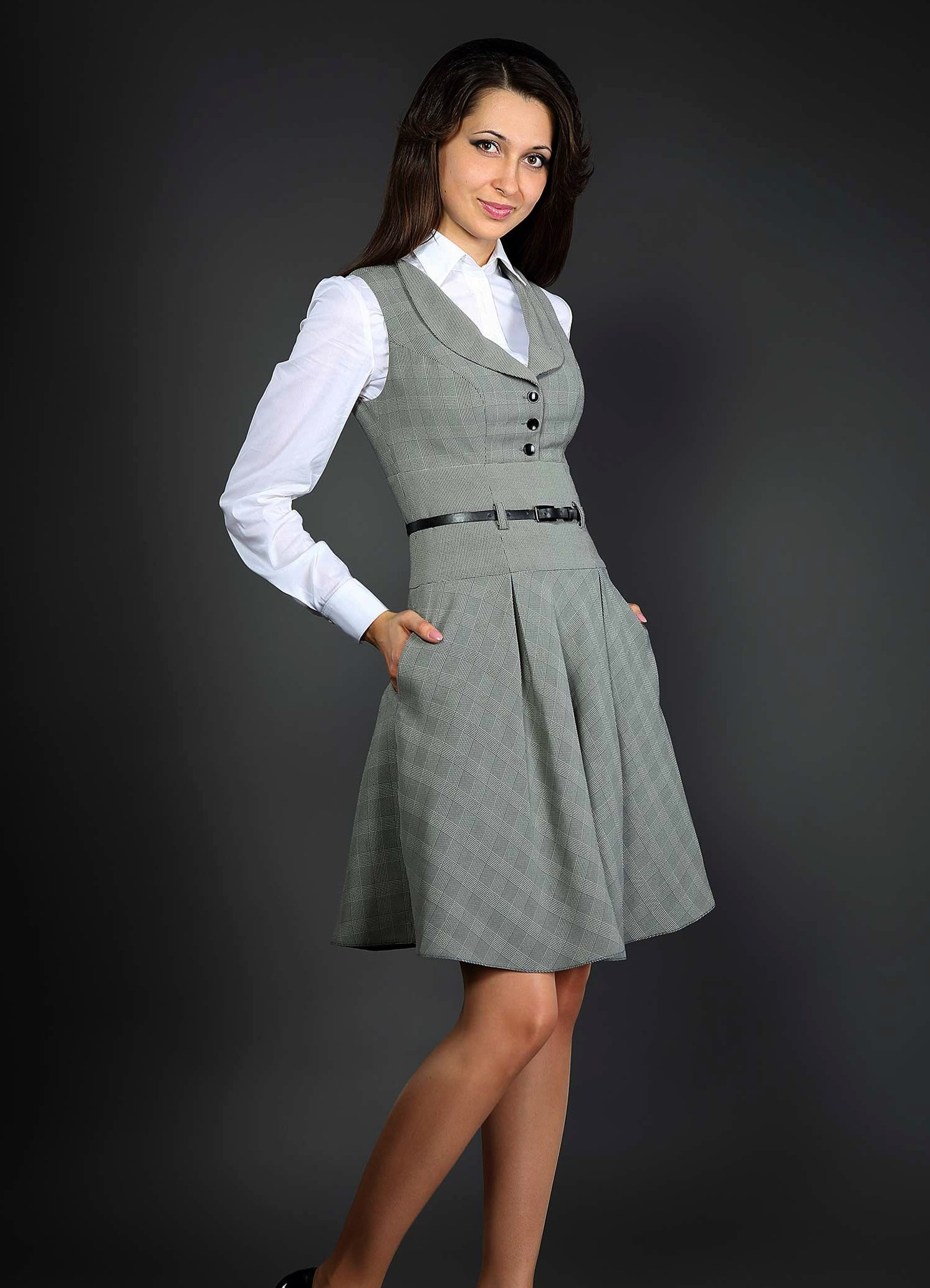 фото платьев для полных драпировка