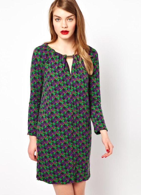Трикотажные платья фасоны 4