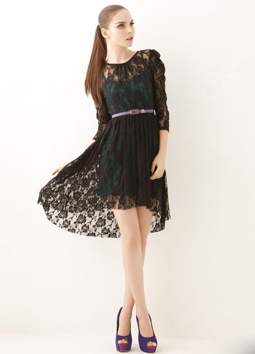 Платья бельевого стиля с кружевом 3