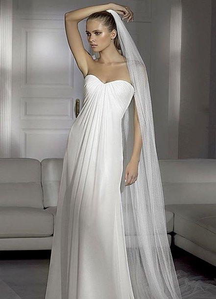 Греческие платья и фата