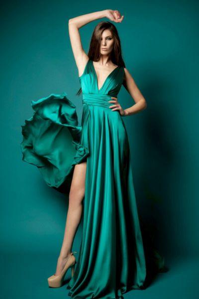 роскошные платья в пол фото каталог