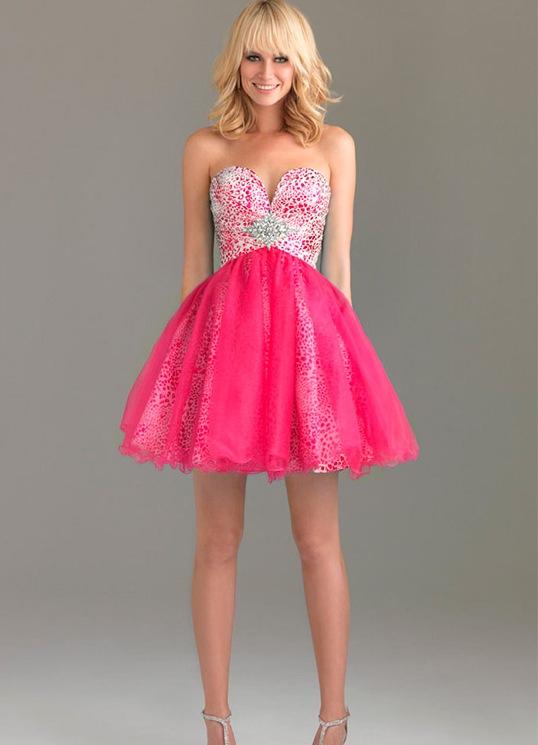 Короткие мини платья