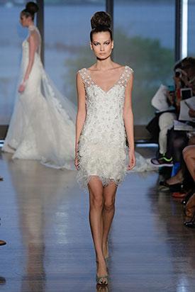Короткие свадебные платья 2014 4
