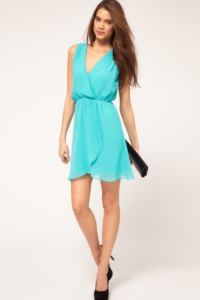 Купить платье шифоновое короткое