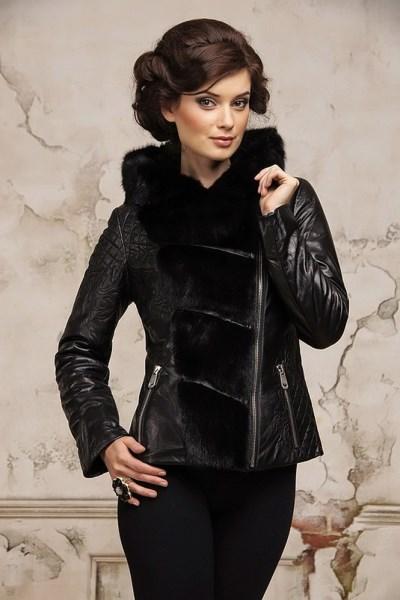 Кожаные Куртки С Норкой