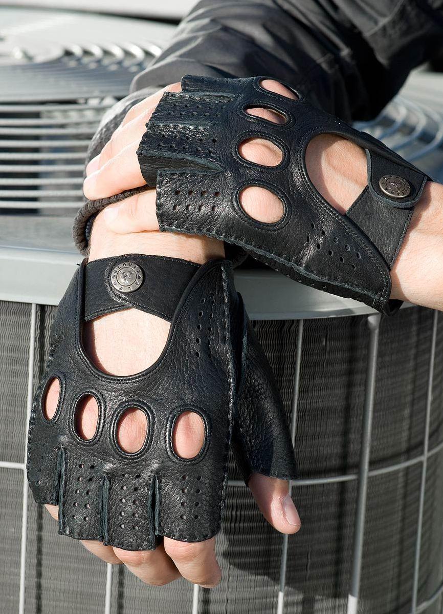 Как сделать перчатки без пальцев своими руками мужские 82