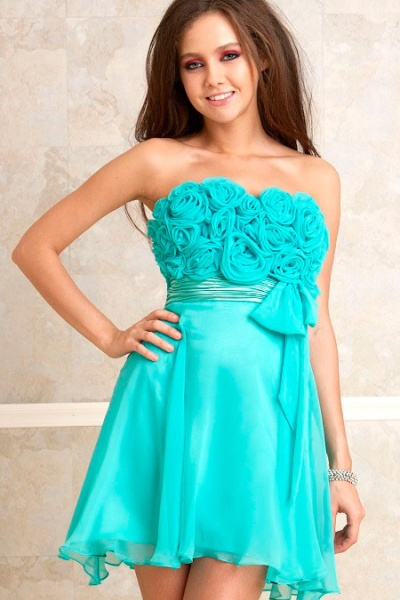 Платья красивые коротенькие
