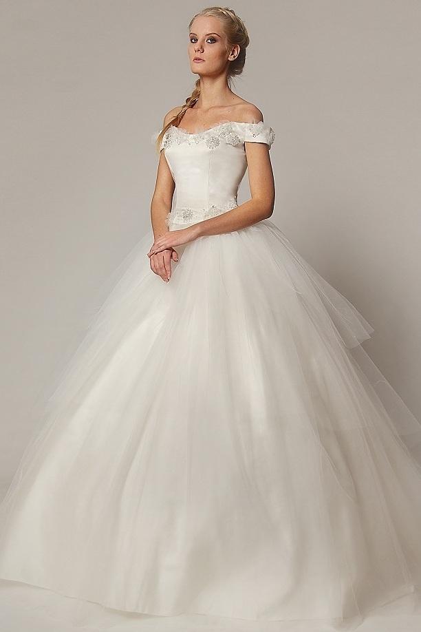 Пышные свадебные платья для беременных 3