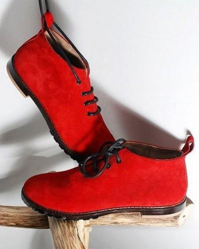Женские красные ботинки купить — цена от 9 9 руб в