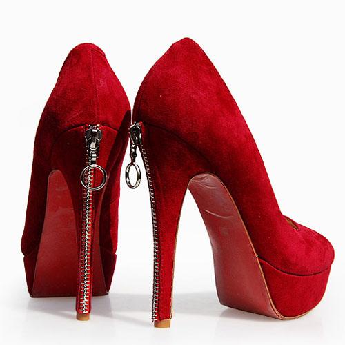 Туфли женские красные украина