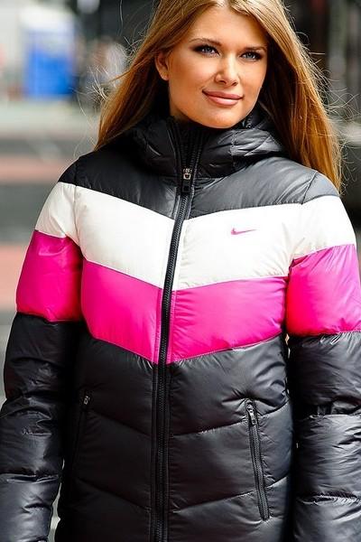 Зимние куртки найк женские