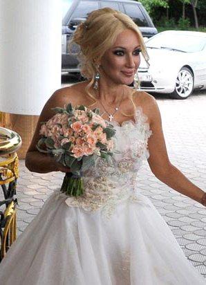 фото свадебные причёски звёзд