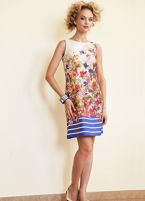 Платья летние разноцветные