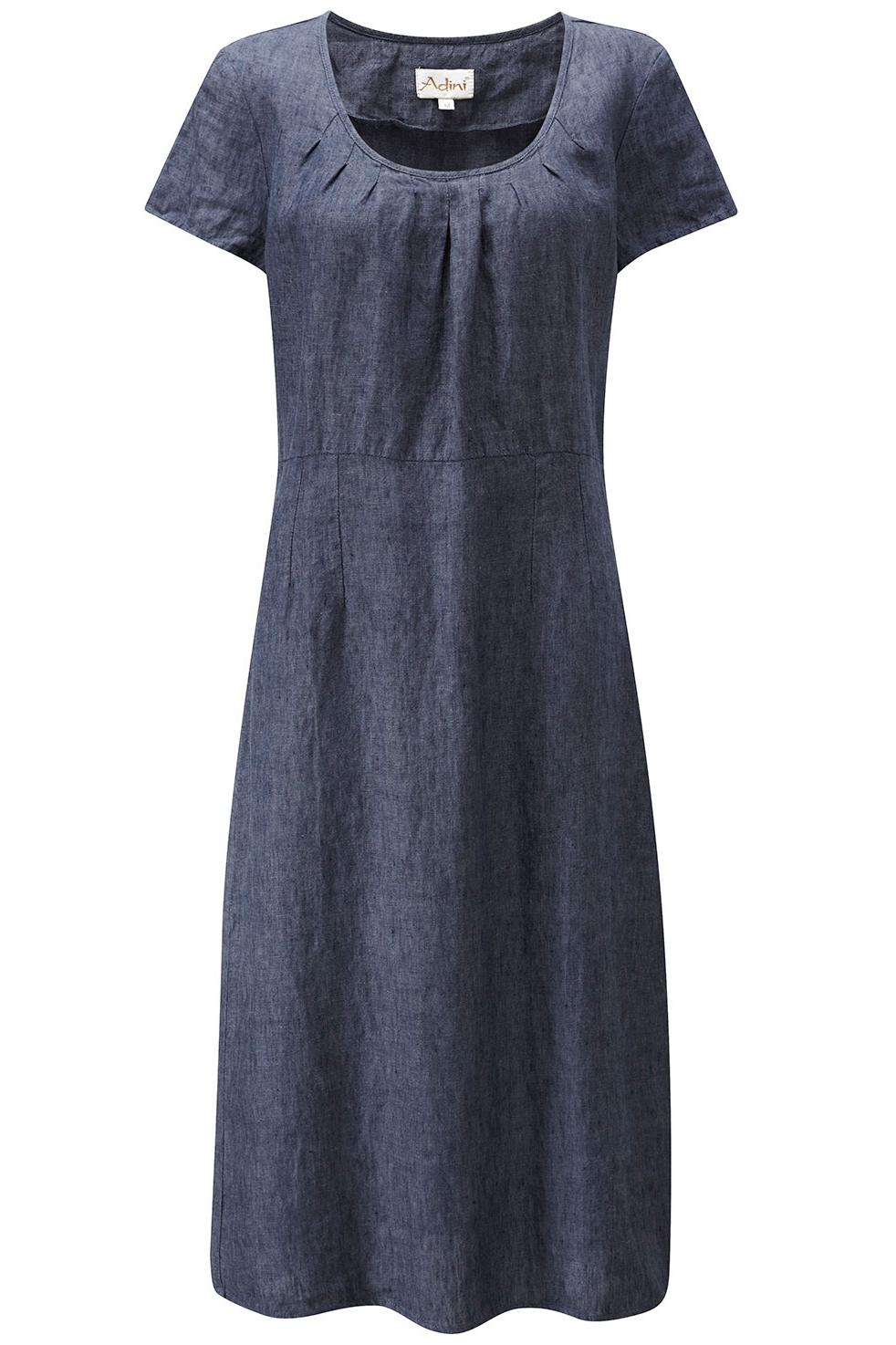 Купить итальянское платье из льна