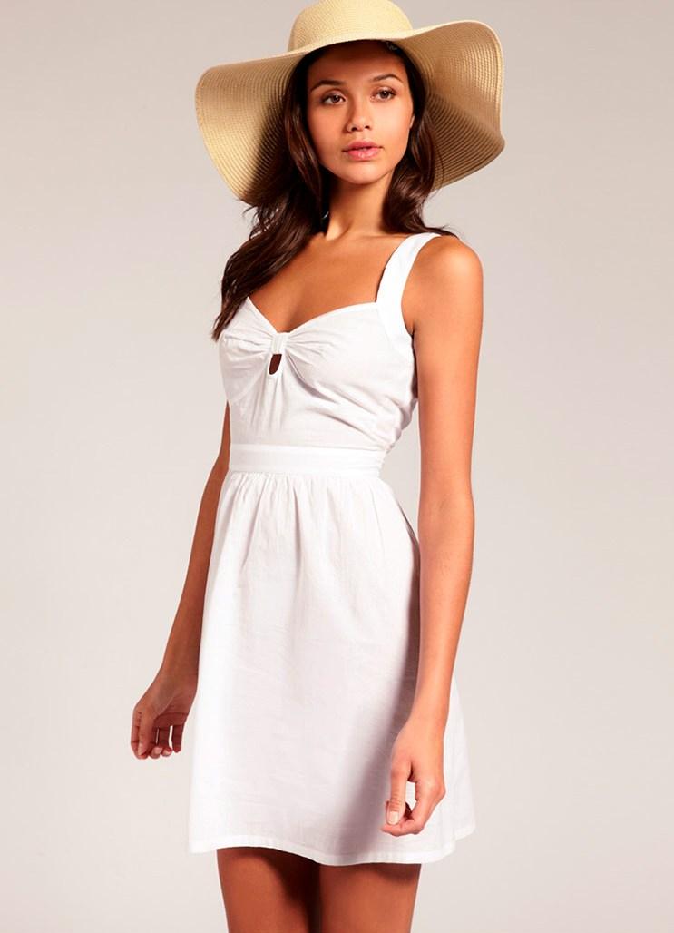 Фото белых платьев и сарафанов