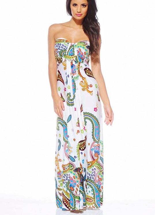 Фото длинных летних платьев и сарафанов