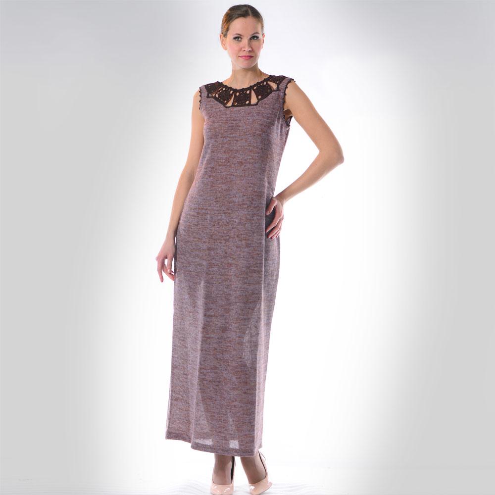 Платья изо льна стильные