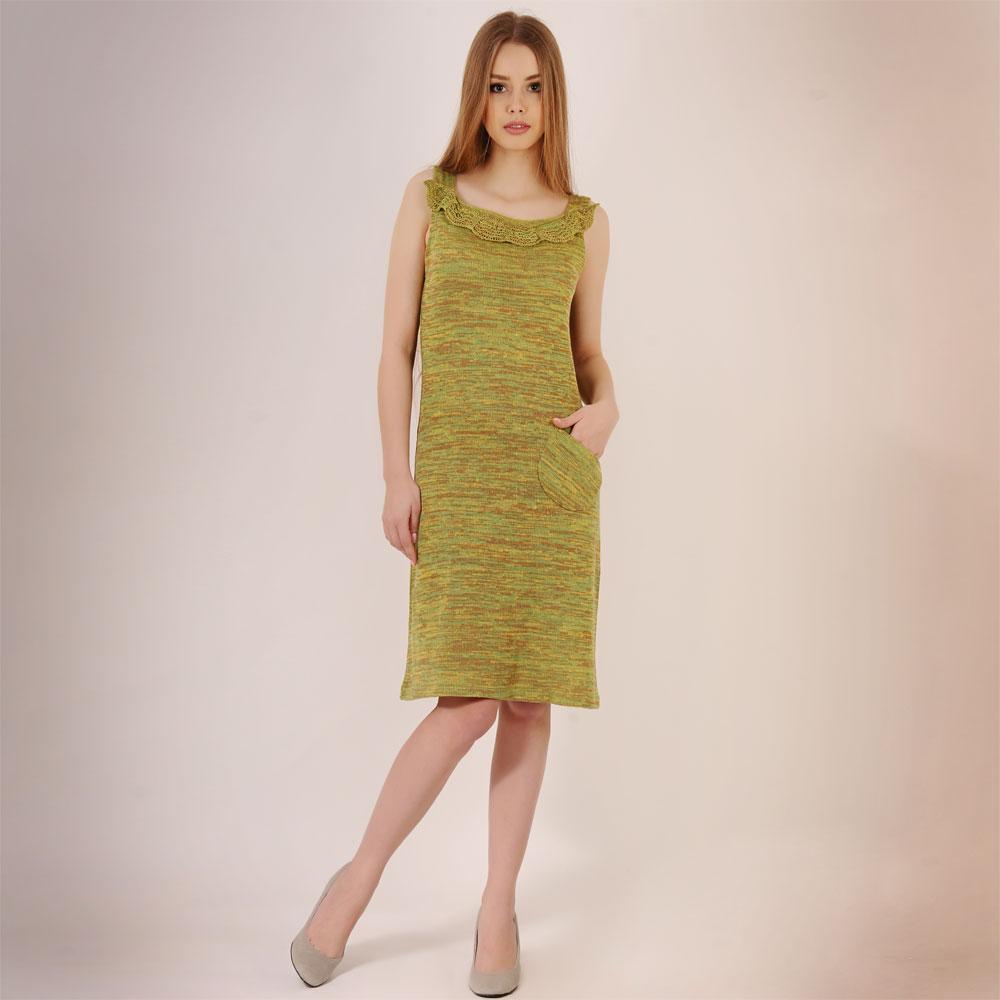 Платья из льна модели