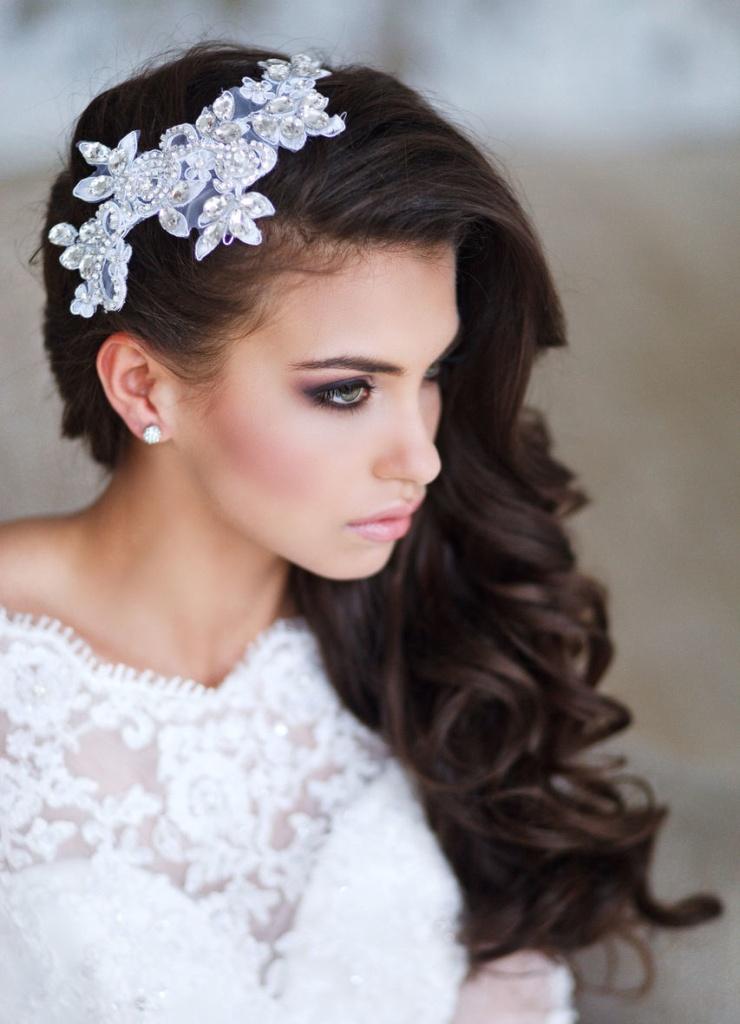 прически для невесты. фото