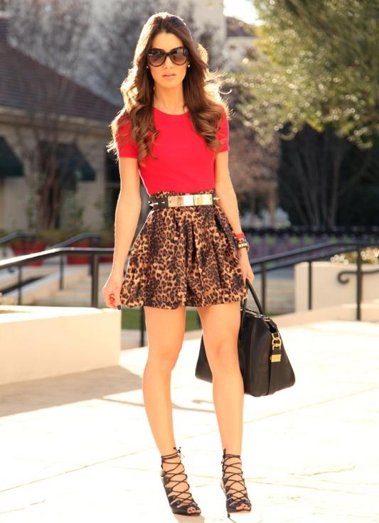 Молодежные юбки модели