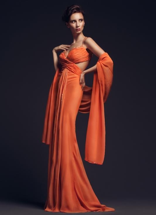 Накидки и шарфы к вечерним платьям