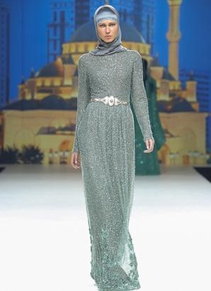 Исламское платье в пол
