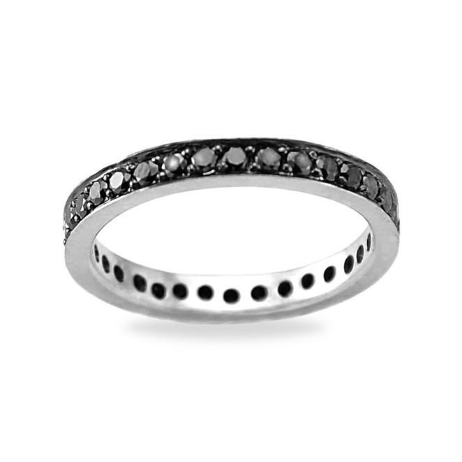 кольцо с мелкими бриллиантами