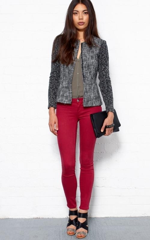 Фото обтягивающие джинсы