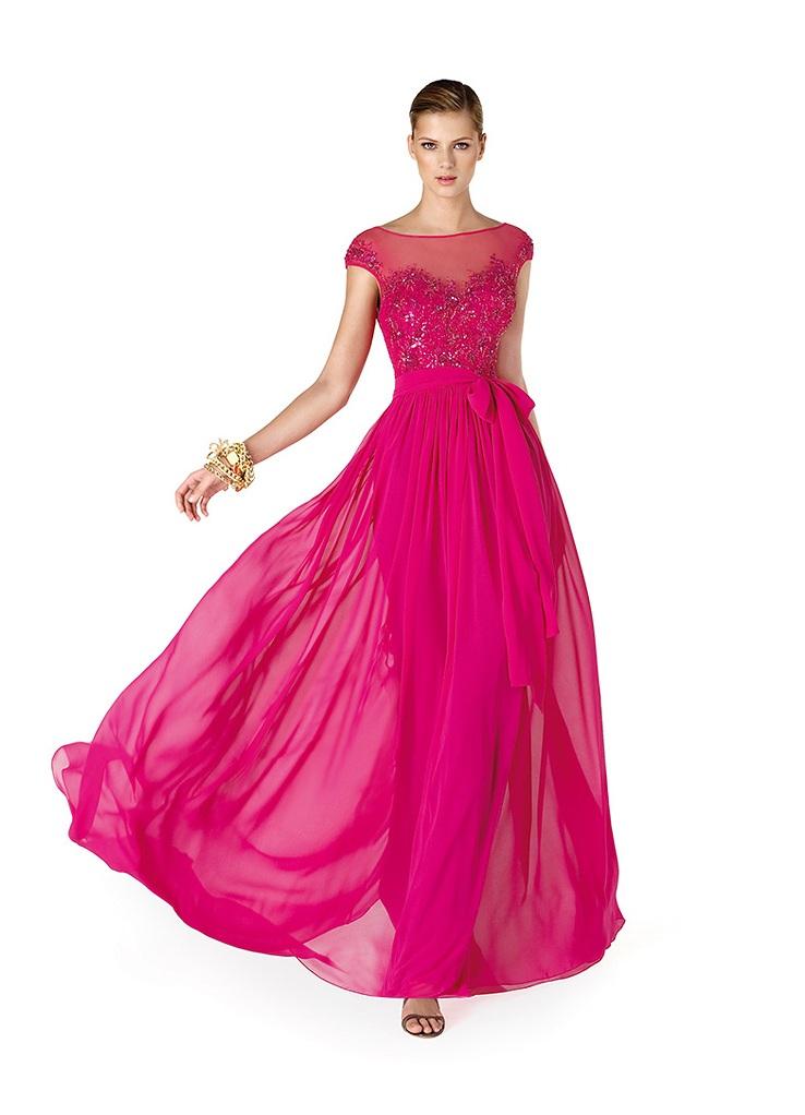 Купить платье цвет фуксия