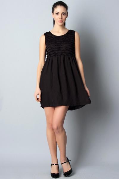Платья с завышенной талией до колена