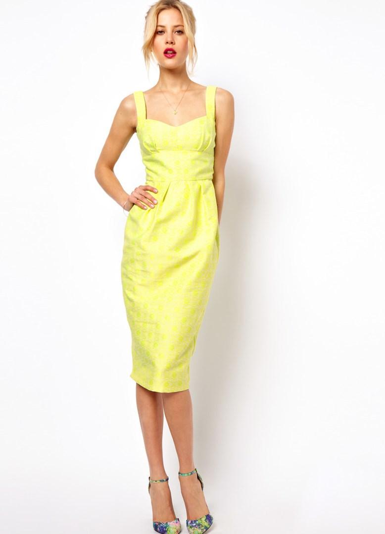 Платье футляр из шифона