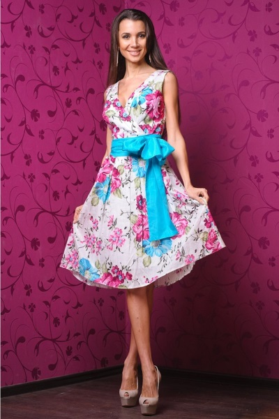 Хлопковое красивое платье