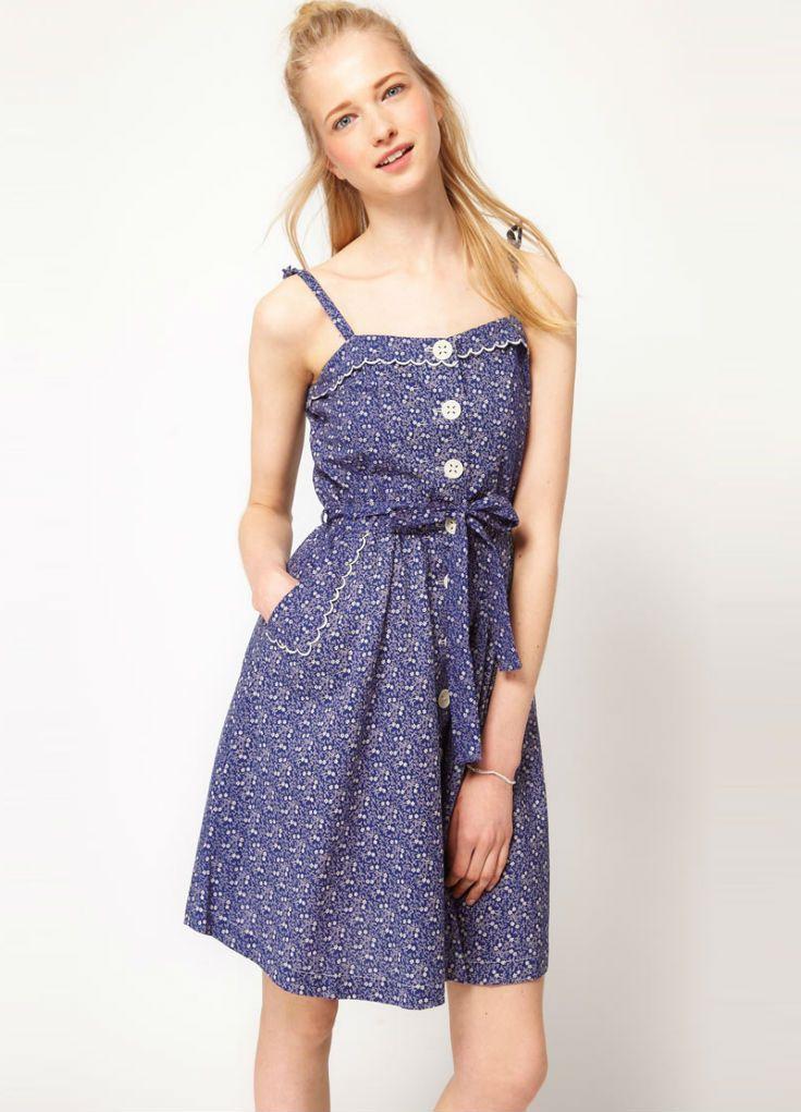 летние платья и сарафаны