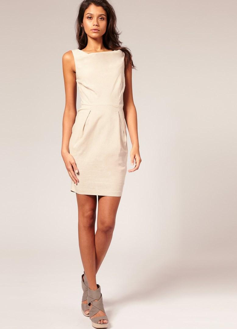 Платье из шифона на худеньких