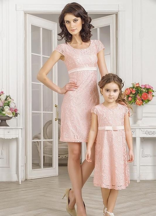 Мама и дочка платья на праздник
