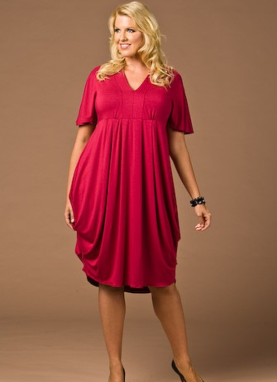 Фото платья для полной девушки