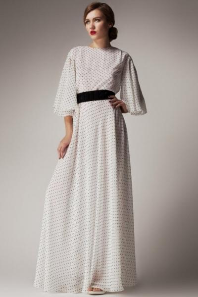 Платье в пол для выхода