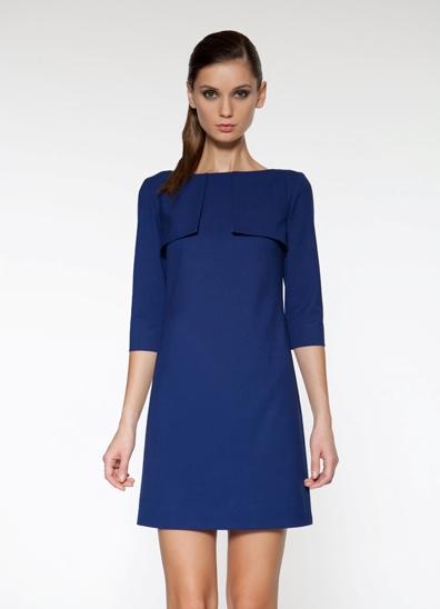 Свободные платья прямые до колен