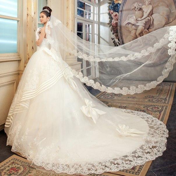 Самые дорогое красивое свадебное платье