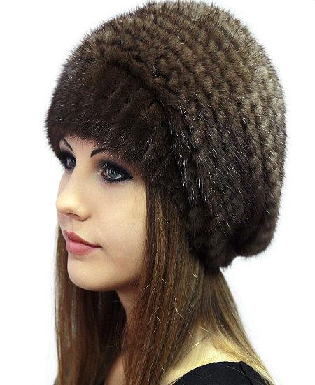 Вязание норкой шапку
