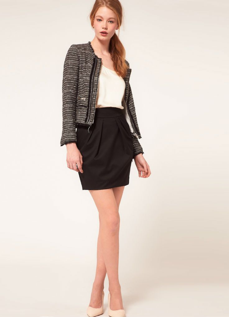 Модель юбки для старшеклассницы