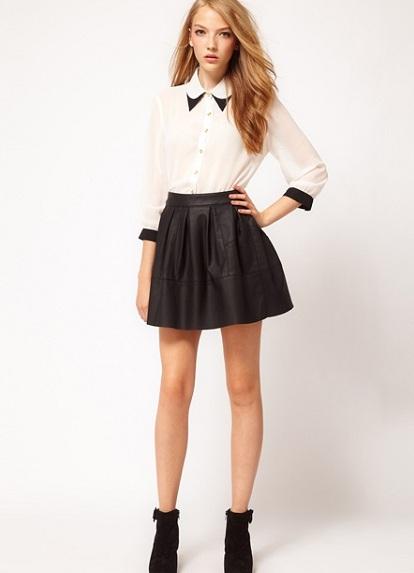 Красивые юбки к школе фото