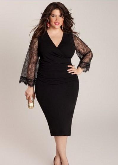 Платья для полных женщин фото 2013. Фото-сайт о моде и стиле